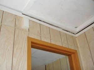 shift in wood paneling