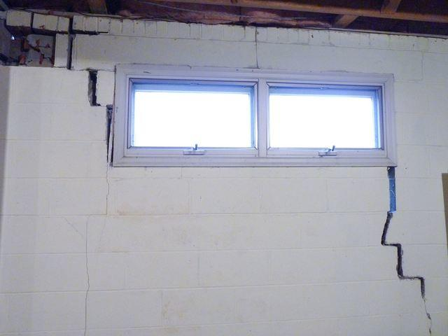 Interior basement window leaking