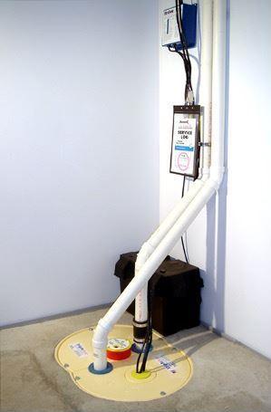 After Sump Pump installation