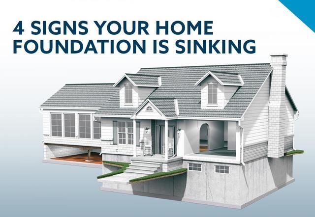4 Signs Your Home Foundation is Sinking