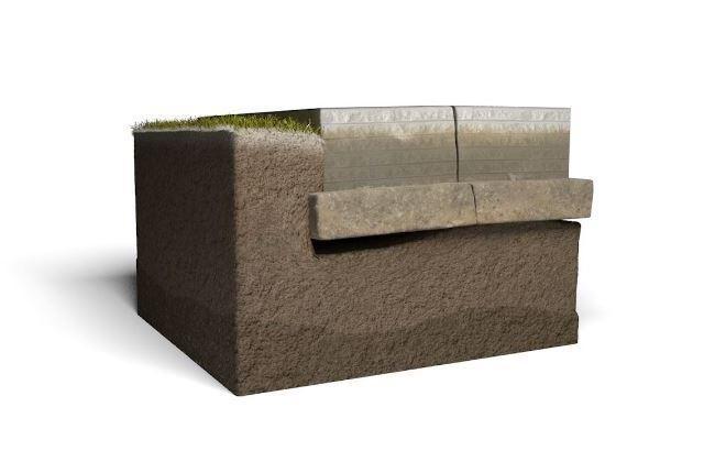 basement foundation crumbling around the soil