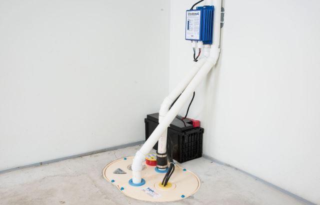 TripleSafe battery backup for sump pump