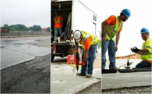 Illinois Department of Transportation chooses Woods Basement Systems: Hazardous highway restored with PolyLEVEL