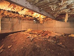 Several crawl spaces have dirt floors because homeowners usually opt for the cheapest option for their crawl space when building...