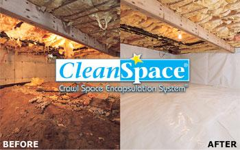 This blog will be focused on the benefits of having a CleanSpace Vapor Barrier installed in your crawlspace....