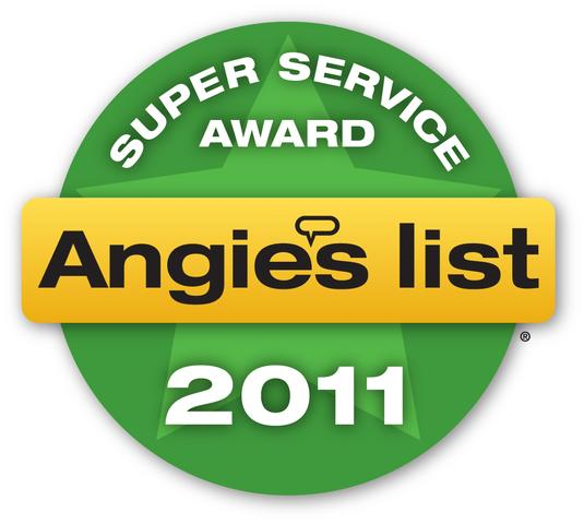 Badger Basement Systems Earns Angie's List Award