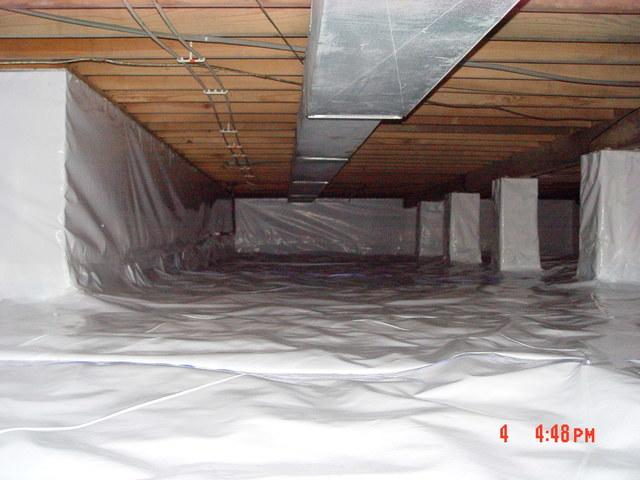 Crawl Spaces Vapor Barriers Improve the Living Conditions in your Home - Image 1