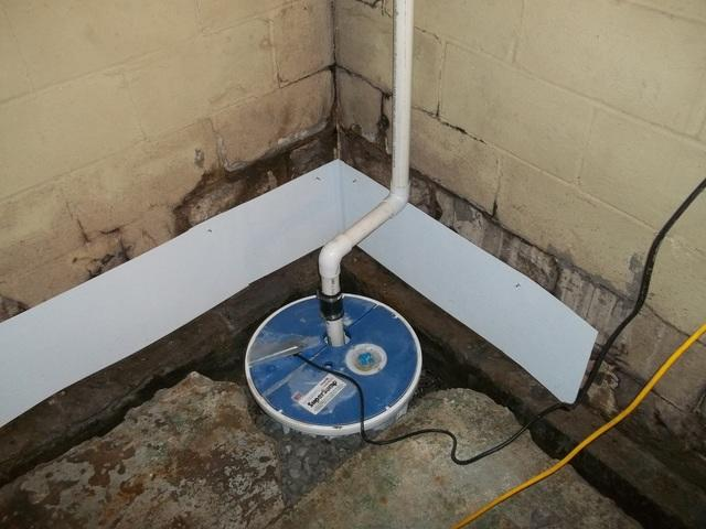 Mt. Lebanon Basement Waterproofing and Bowed Wall Repair