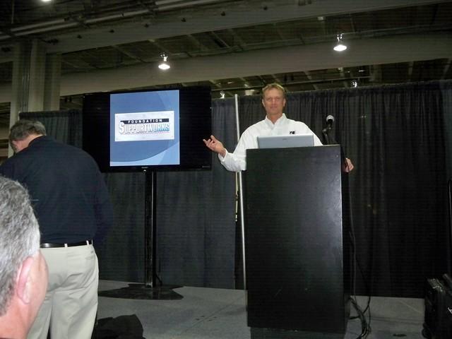Brian Baker conducts seminar.