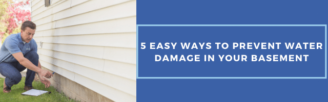 5 Easy Ways to Prevent Water Damage in Your Basement - Image 1