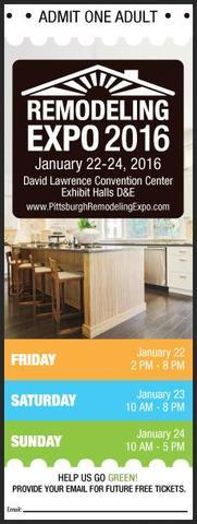Free Tickets to the L & L Remodeling Expo