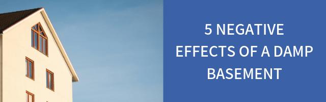 5 Negative Effects of a Damp Basement - Image 1