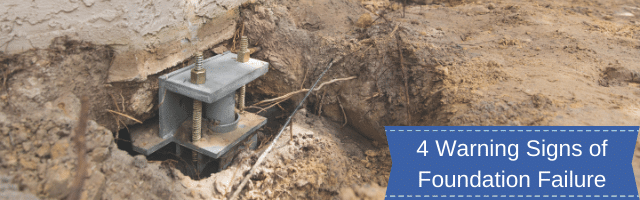 4 Warning Signs of Foundation Failure