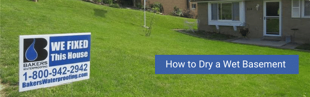 How to Dry a Wet Basement