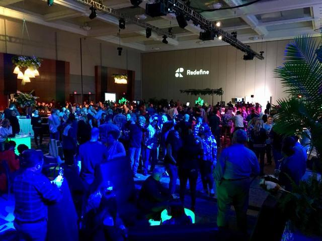 Baker's Waterproofing Redefine Conference Party