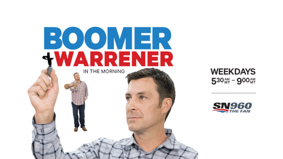 Boomer and Warrener in the Morning