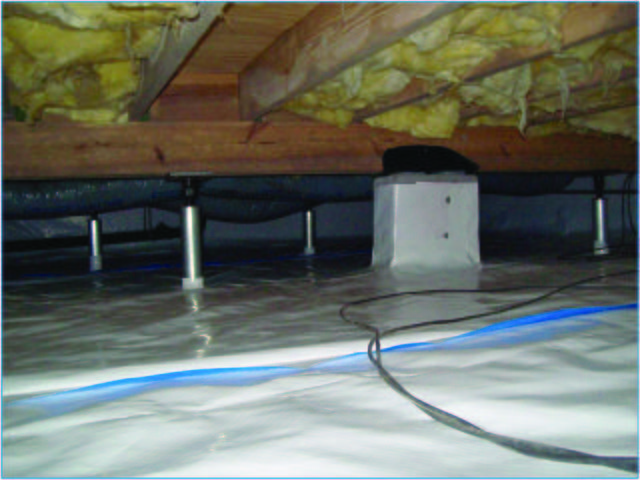 When It's 10 Degrees Outside, How Cold Will Your Crawl Space Be?
