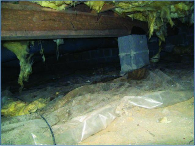 The typical crawl space found under homes in West Virginia has a number of design flaws....