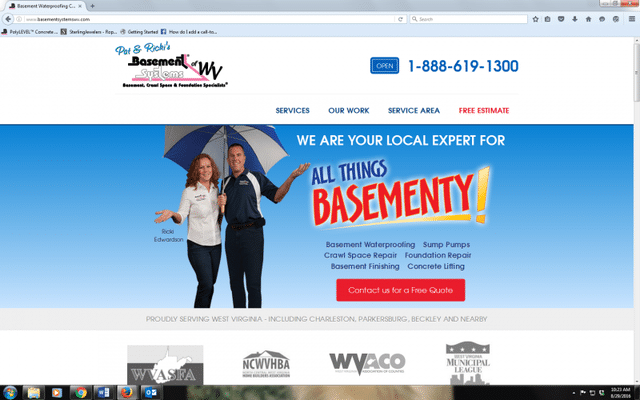Basement Systems of West Virginia recently updated its website.  Not only does our website have a new look, but...