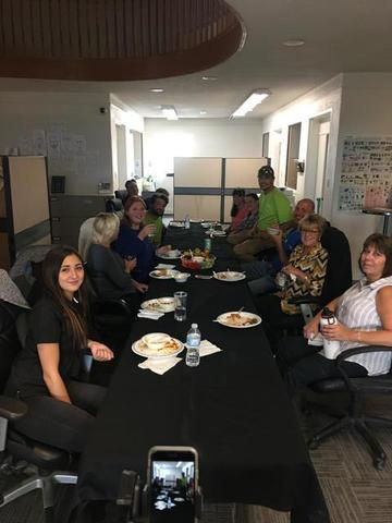 Clarke Basement System pulled together a potluck for Thanksgiving on Friday October 6th before the long weekend!...