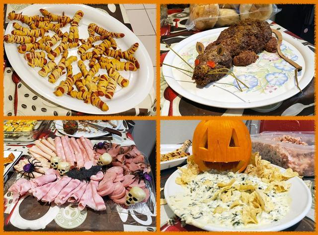 Hungry witches and warlocks gathered for our first-ever Halloween Potluck!...
