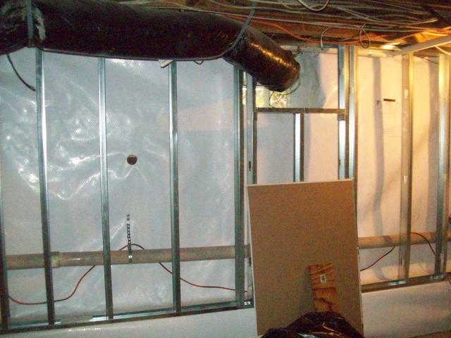 Phase 4  Week 3 of our threeweek basement reconstruction in Aurora NY - Image 3