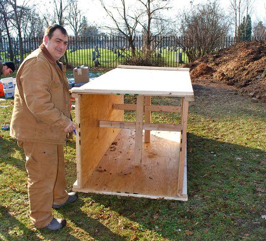 Frank DiMaria helps install new Seismograph at Canisius College - Image 3