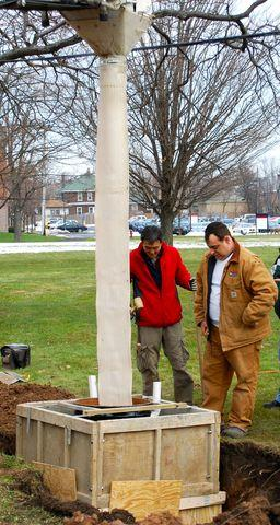 Frank DiMaria helps install new Seismograph at Canisius College - Image 9