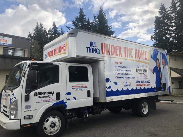 After months of planning, tweaking, communication, and preparation, we finally finished wrapping our new truck. This is very exciting for...