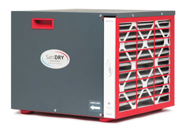 Introducing the NEW SaniDry Sedona Dehumidifier