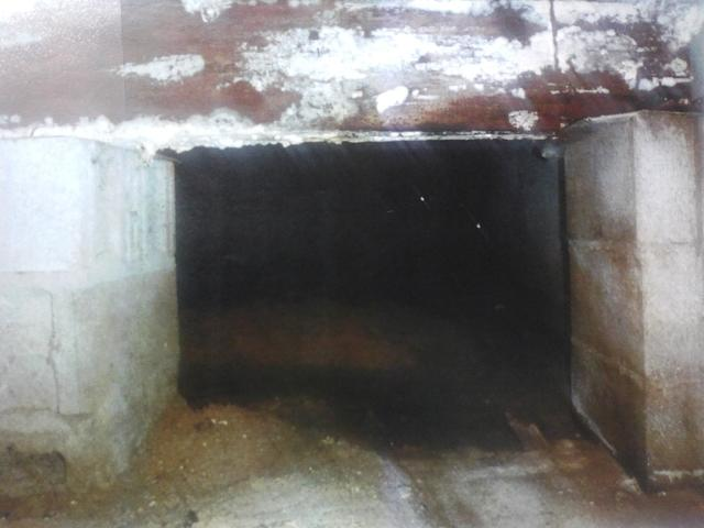 Crawl space in Bridgeville, DE