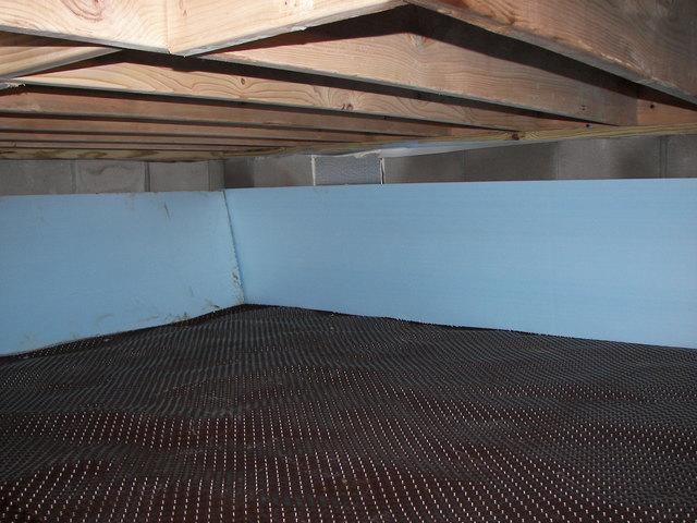 Drainage matting that goes under CleanSpace