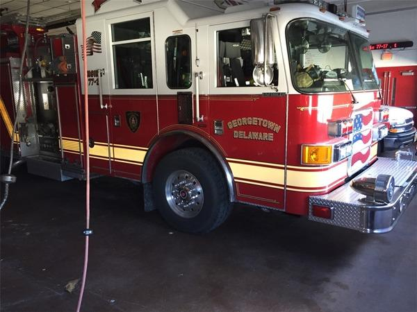 Georgetown Fire Company Is Rescued By DryZone