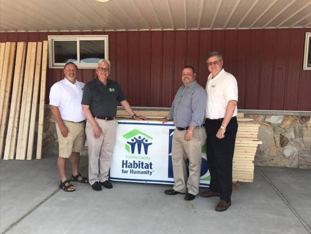 DryZone Hosted Fundraiser for Sussex County Habitat for Humanity