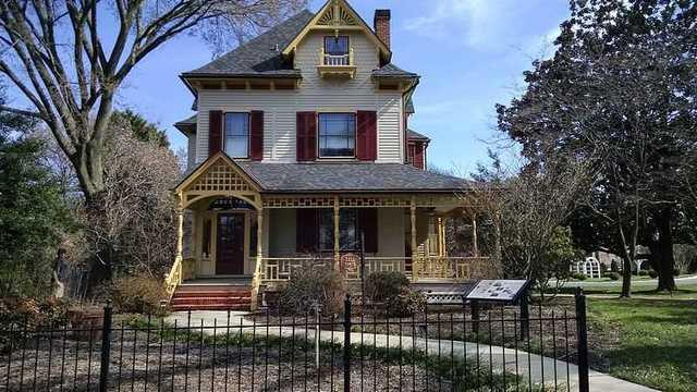 Repairing The Historical Governor's Mansion Guest House