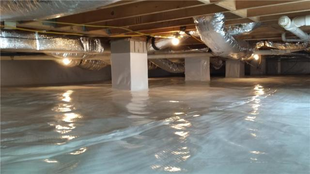 Does your crawl space look this clean? If not, contact DryZone today. 302-684-5034