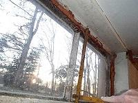 Old metal windows start to rust overtime. EverLast windows will never mold because of the vinyl material.