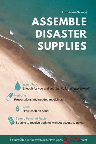 Prepare for this hurricane season by gathering basic supplies