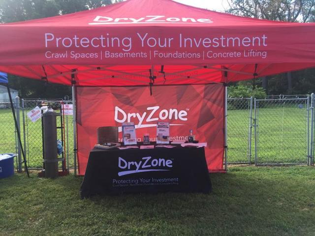 DryZone Booth At Wyoming Peach Festival