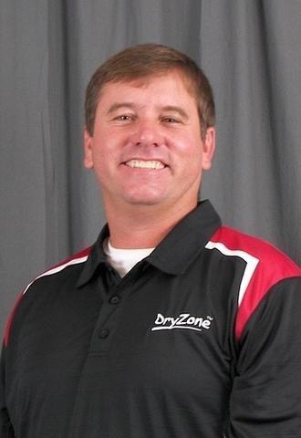 Derek McCarra, new DryZone Sales Manager