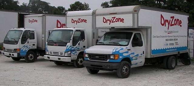 A few of the DryZone trucks