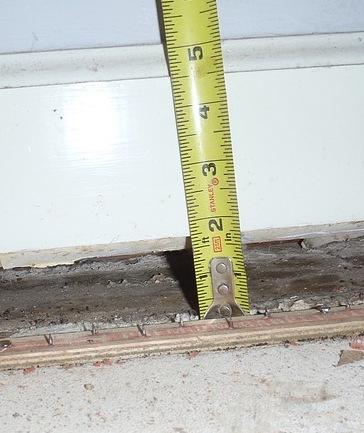 A home in Newark, DE gets a new, level slab floor