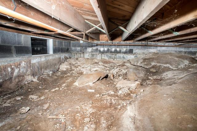 Higher Energy Bills - From Your Dirt Crawl Space