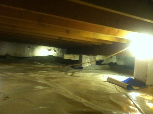 Evansville Crawlspace Leads to HVAC breakdown