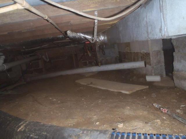 Crawlspace Before