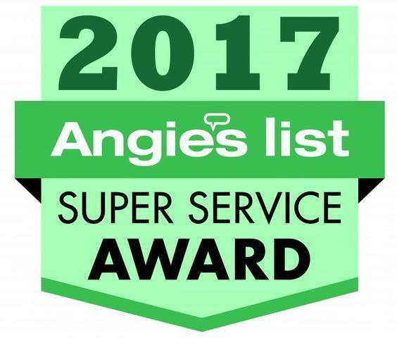 Angie's List Super Service Award Winner 2017!!