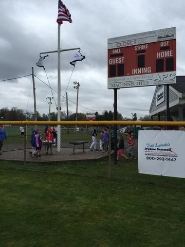 Opening Day for Bridgewater Little League