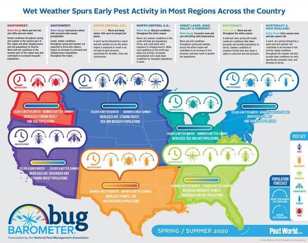 NPMA Issues its 2020 Bug Barometer