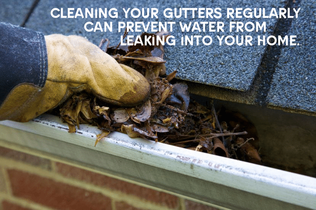 Get your home ready for spring with gutter cleaning as a way to keep moisture out of your home....