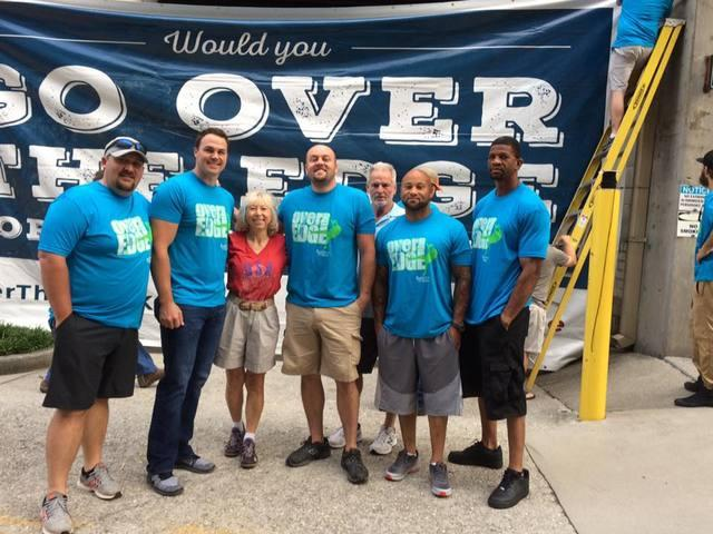 Master Service Companies Goes Over the Edge for a Great Cause